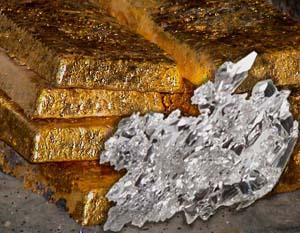 Россия к 2025 году увеличит добычу золота и серебра на 14,2%